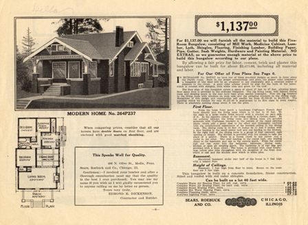 1914 Sears Modern Homes Catalog On Cd The Rarest Sears Ebay