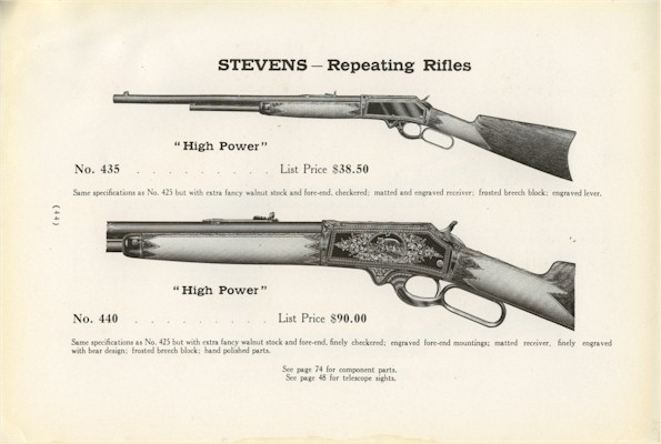 Stevens 425 High Power - General Rifle Discussion